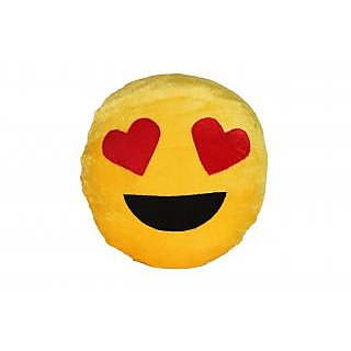 Love Smiley Cushion With Filler 13 Inch