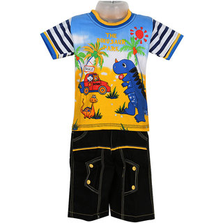 Baby Boys T-Shirts and 3/4 Pants