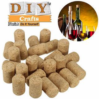 Preservation Cork DIY Crafts 25 Count brand New Brewed Wine Corks Bottle Stopper