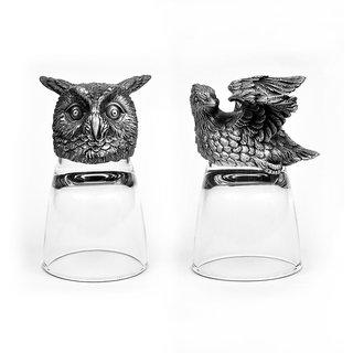 Animal Head Shot Glasses,50ml,Set of 2