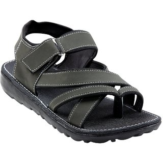 TrustedSnap Sandals For Men (Dark Green)
