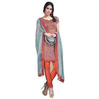 Triveni Charming Paisely Motif OfficeWear Salwar Suit  (Unstitched)