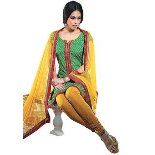 Triveni Pleasing Printed Salwar Kameez  (Unstitched)