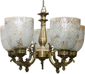 olip lighting Lotus 5LP chandelier