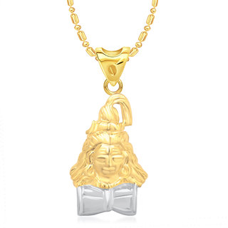 Buy vk jewels lord shiva pendant gold and rhodium plated p1359g vk jewels lord shiva pendant gold and rhodium plated p1359g vkp1359g mozeypictures Choice Image