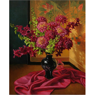 Vitalwalls Still Life Painting Canvas Art Print.Static-195-45 cm