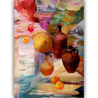 Vitalwalls Still Life Painting Canvas Art Print.Static-259-30cm