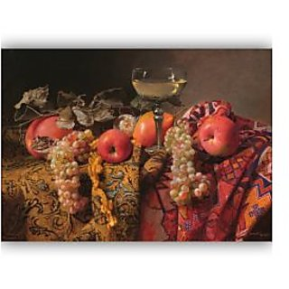 Vitalwalls Still Life Painting Canvas Art Print.Static-205-60 cm