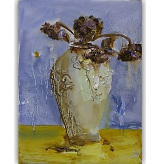 Vitalwalls Still Life Painting Canvas Art Print,Wooden Frame.Static-277-F-30cm