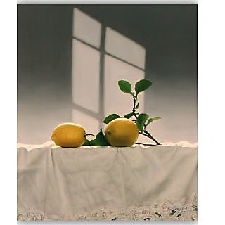 Vitalwalls Still Life Painting Canvas Art Print,Wooden Frame.Static-316-F-60cm
