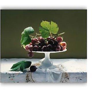 Vitalwalls Food Grapes Wallpaper Canvas Art Print.Static-318-30cm