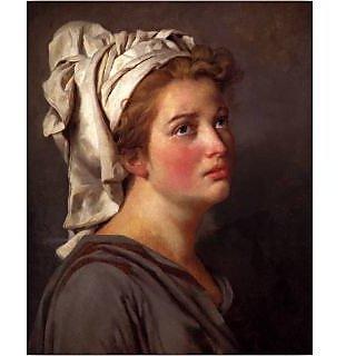 Vitalwalls Portrait Painting Canvas Art Print.Western-240-60cm