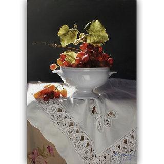 Vitalwalls Still Life Painting Canvas Art Print.Static-175-30cm
