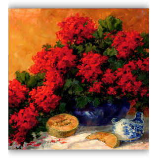 Vitalwalls Still Life Painting  Canvas Art Print.Static-365-30cm