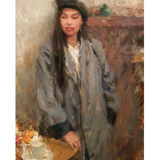 Vitalwalls Still Life Painting  Canvas Art Print.Western-029-45cm
