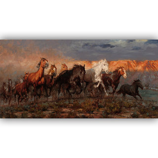 Vitalwalls Portrait Painting Canvas Art Print,on Wooden FrameWestern-324-F-30cm