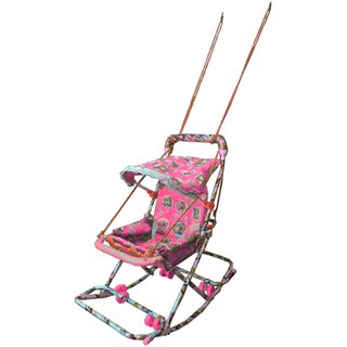 Suraj Baby pink Walker With 6 In 1 Function for your kids Se-W-27