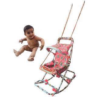 suraj baby red color walker with 6 in 1 function for your kids se-w-29