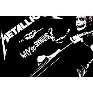 Zap Metallica Poster (ME103)