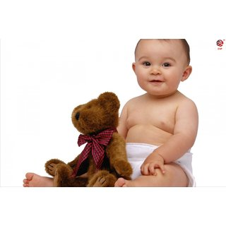 Zap Cute Baby Poster (T457)