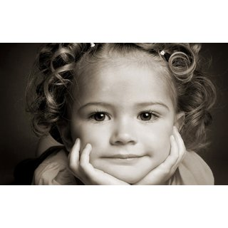 Zap Cute Girl Poster (T594)