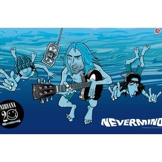 Zap Nirvana Poster (NI54)