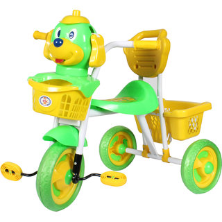 HLX-NMC KIDS SCOOBY PUPPY TRICYCLE GREEN/YELLOW