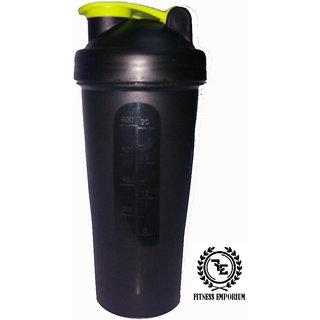 FIT-EMP Black Single Shaker 600 ml