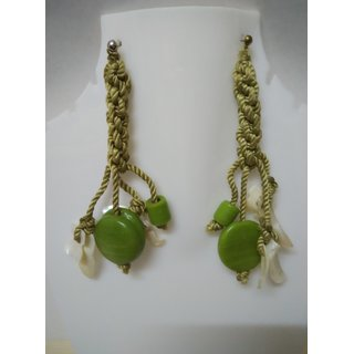 WOAP By Trisha Jewels Stunning Beach  Handicrafted Earring For Beachs  Rain Party