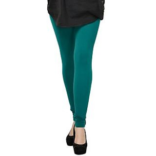 Cotton Lycra Legging- Green
