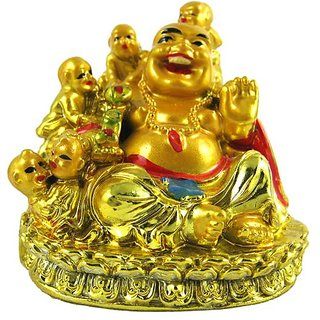 Fengshui Laughing Budha With Childs