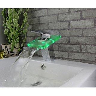led mixer faucet