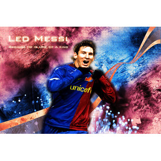 Lionel Messi One Of A Kind Poster (SPORTS00019)