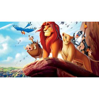 Lion King Cartoon Poster (CARTOON00066)
