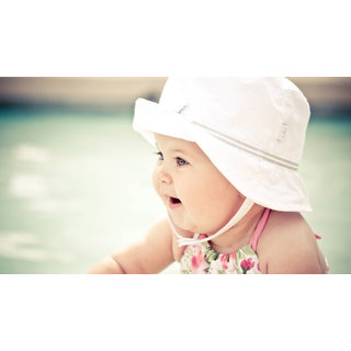 Cute Baby With Hat (NAVYA-BABY-000003)