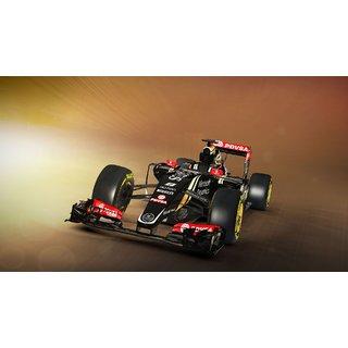 Car Lotus E23 Formula 1 Poster 12X18Inch (CAR000019)
