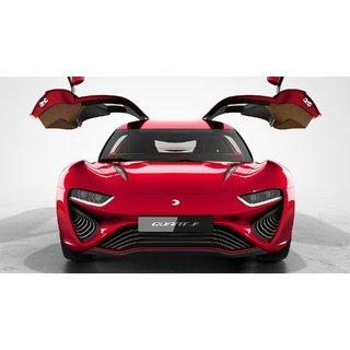 Car Nanoflowcell Quantino Red Poster (CAR000022)