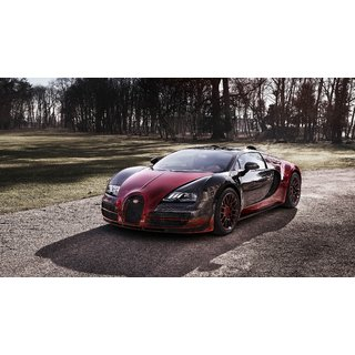 car bugatti veyron poster car000031 available at shopclues. Black Bedroom Furniture Sets. Home Design Ideas