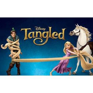 Navya Poster Of Disney Tangled - Cartoon (CARTOON0097)