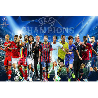 Navya Poster Of Uefa Champions League - Soccer Star (SPORTS00086)