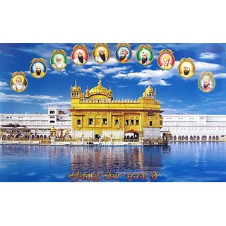 Navya Poster Of Dasham Sikh Guru (GOD00048)