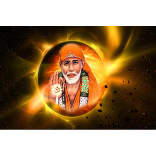 Poster Of Sai Baba (GOD0022)