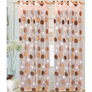 Deepanshi Handloom Door Curtain set ofx 2 (9x4 feet)