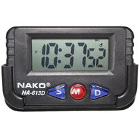 Nako NA-613D Automobile Clock , Table Clock , Stop Watch, Multi Purpose Clock