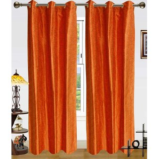 Deepanshi Handloom Door Curtain set of 2 (9x4 feet)
