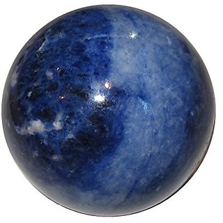 Sodalite Ball - Blue