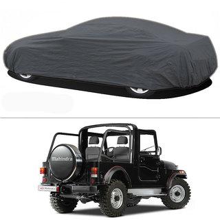 Millionaro - Heavy Duty Double Stiching Car Body Cover For Mahindra Thar