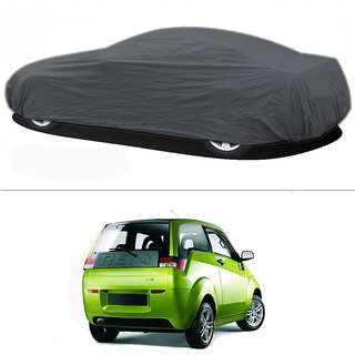 Millionaro - Heavy Duty Double Stiching Car Body Cover For Mahindra E2O (Reva)