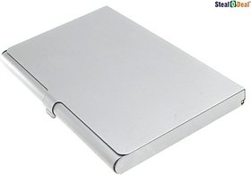Stealodeal Executive Steel 10 Card Holder(Set of 1, Silver)