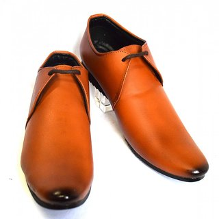 mHaaak Formal Softy Leather Shoes TAN 1410